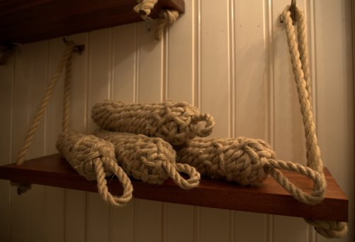 Some rope fenders