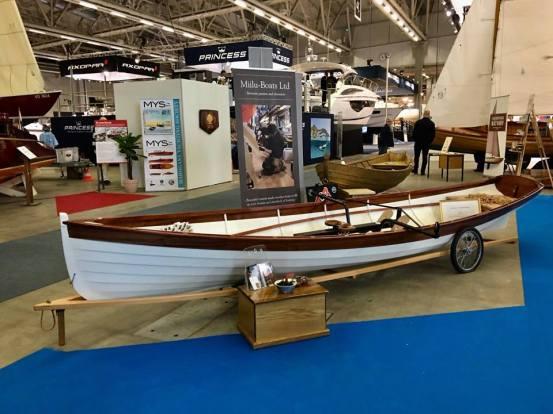 17' Whitehall, Helsinki International Boat Show 2018