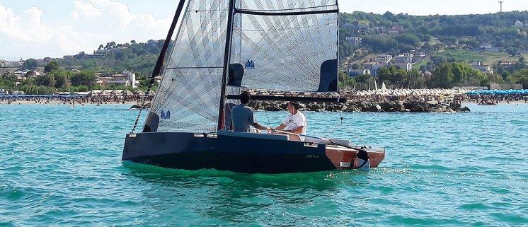 Zen plus sailing back